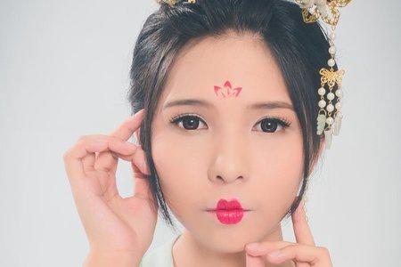 【許可欣專業新娘秘書*秀禾服&唐朝古裝造型】