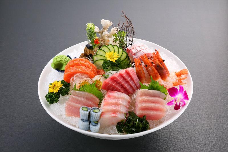 主廚生魚片
