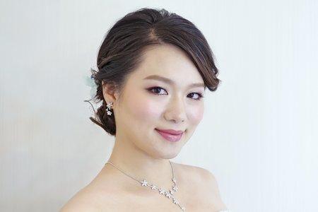 日系優雅新娘造型