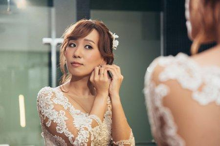 阿剛&埼埼 結婚喜宴 新娘造型 宜蘭古堡party2.0