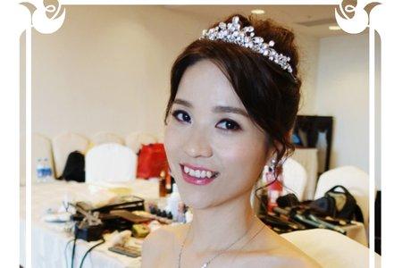 Jackson & 美妤結婚喜宴 新娘造型 台北圓山大飯店