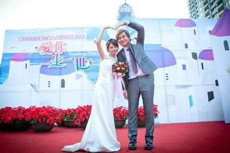 亞馨與廣志聯合婚禮儀式