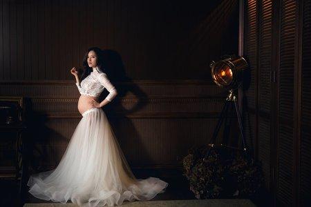 孕婦婚紗照