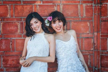 閨蜜輕婚紗