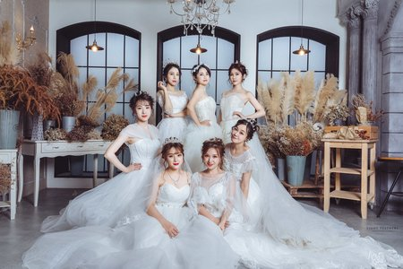 七人閨蜜婚紗