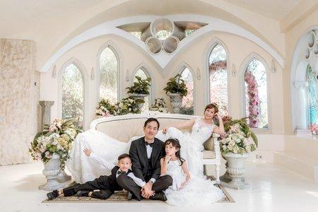全家福婚紗拍攝