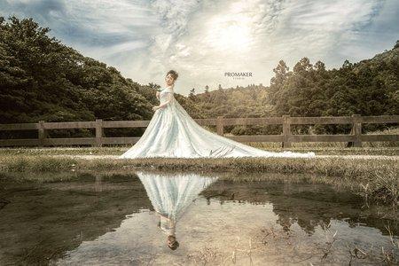 冷水坑拍婚紗創作
