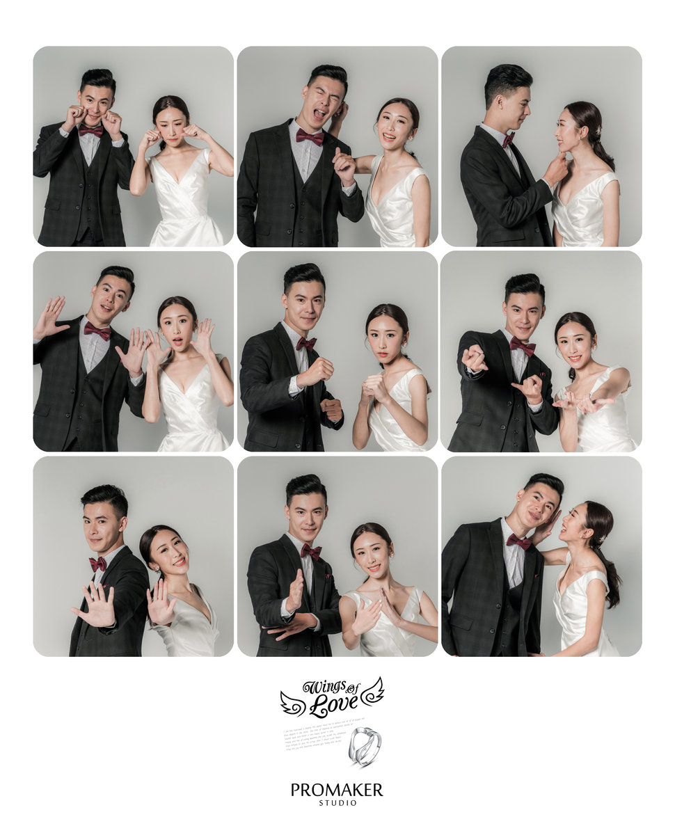 九宮格 - Promaker婚禮紀錄攝影團隊婚攝豪哥《結婚吧》