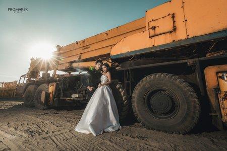 向日葵婚紗