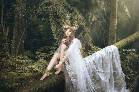 精靈婚紗寫真