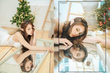 聖誕節創作麋鹿造型