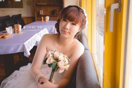 個人婚紗-可愛的娃娃