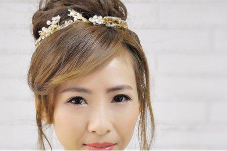 日系花苞新娘造型