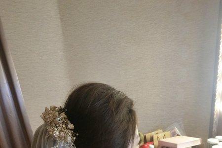 龍龍新娘造型