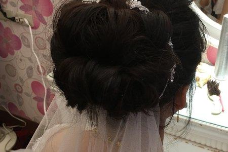 小芳新娘造型