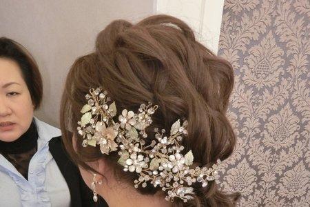 髮量少又細軟髮新娘