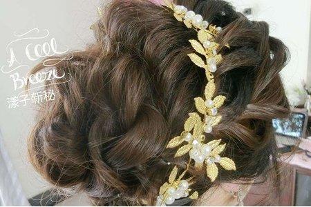 韓式空氣拉絲髮型