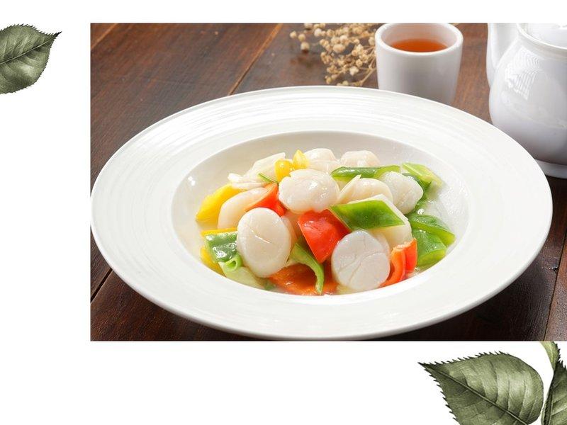三熱炒-西芹鮮玉帶
