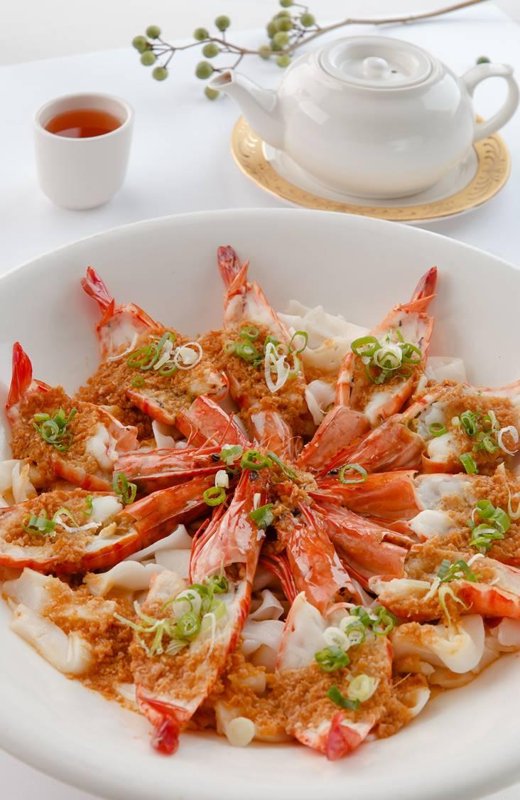 蒜泥大海蝦(湘粉底)