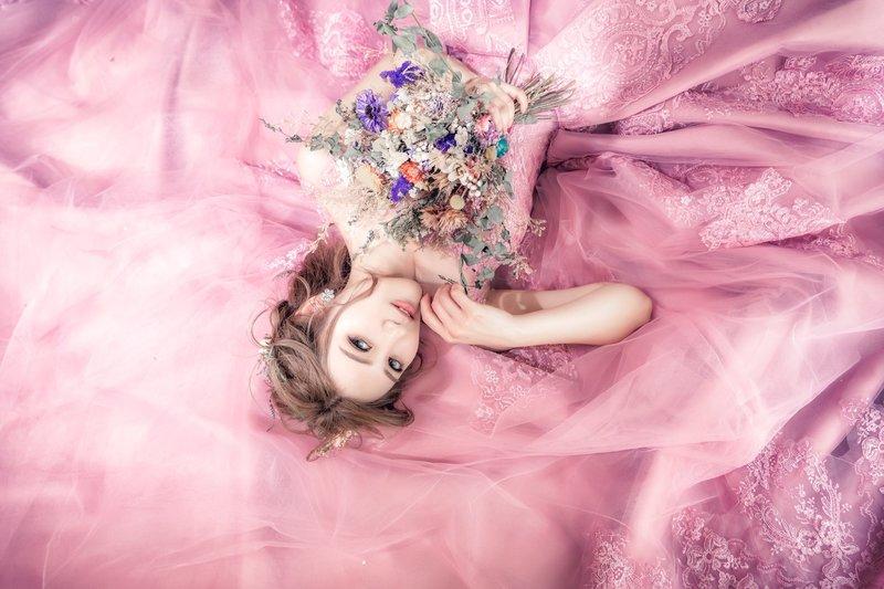 浪漫乾燥玫瑰 - 客製化拍攝