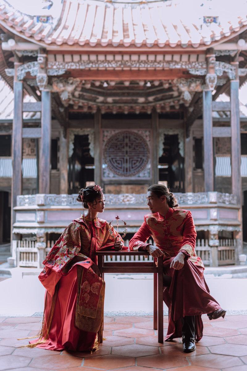 中式龍鳳掛 - 客製化拍攝