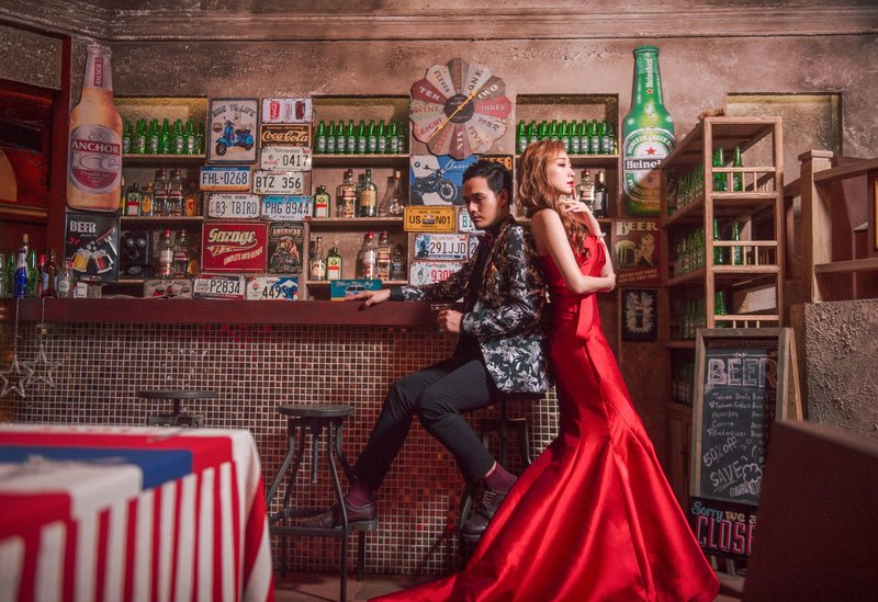 美式時尚嫣紅 - 客製化拍攝