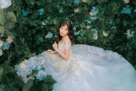 浪漫繡球花-婚紗攝影/台中婚紗/婚紗包套/自助婚紗
