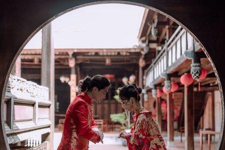 中式龍鳳掛-婚紗攝影/台中婚紗/婚紗包套/自助婚紗