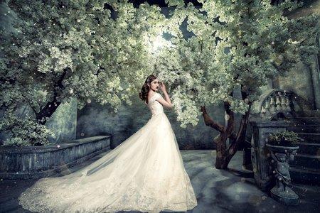 輕奢華香檳金-婚紗攝影/台中婚紗/婚紗包套/自助婚紗