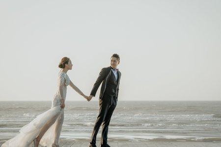 歐美漫步海景-婚紗攝影台中婚紗婚紗包套自助婚紗