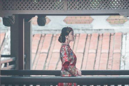 中式延禧風-婚紗攝影台中婚紗婚紗包套自助婚紗