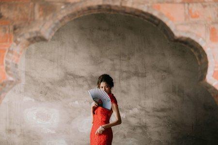 紅旗袍-婚紗攝影台中婚紗婚紗包套自助婚紗