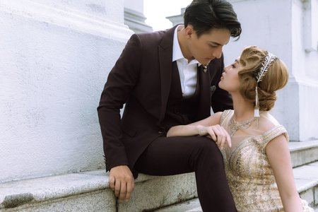 20年代大亨小傳-婚紗攝影台中婚紗婚紗包套自助婚紗