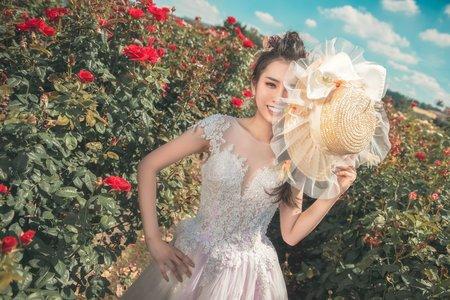 清新花海-婚紗攝影台中婚紗婚紗包套自助婚紗