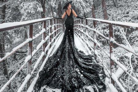 雪景-婚紗攝影台中婚紗婚紗包套自助婚紗