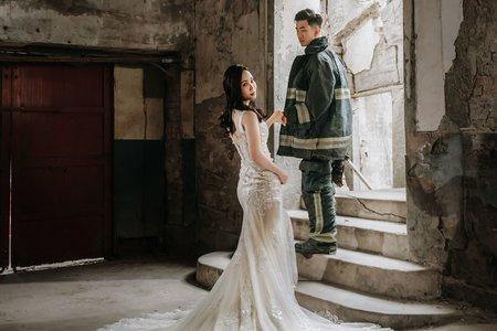 廢墟-婚紗攝影/台中婚紗/婚紗包套/自助婚紗