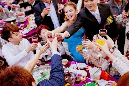 郁倩婚禮宴客記錄