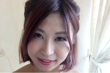 短髮新娘首選