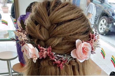 乾燥花韓式造型