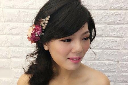改造姐-單眼皮黑髮係氣質新娘