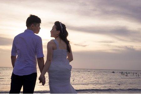 【木由子攝影】美 & 超  清新自助婚紗