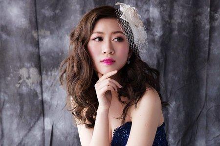 Minami新娘整體造型~復古甜美風