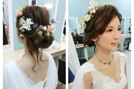 MINAMI 新娘秘書- 低盤髮仙仙造型