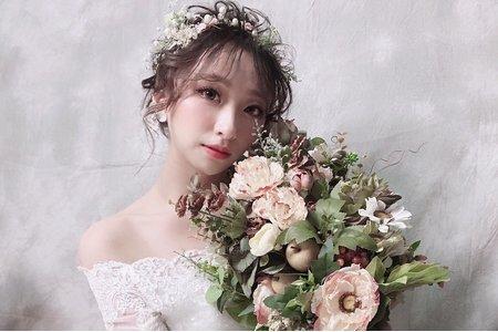 MINAMI新娘秘密/噴槍彩妝-短髮仙仙風造型