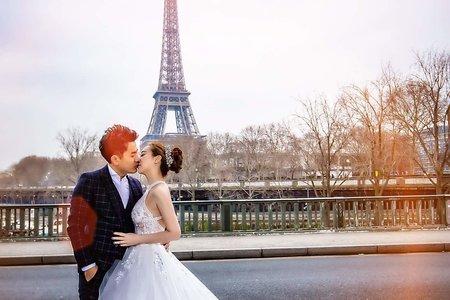 Minami 新娘秘書- 海外法國婚紗 經典高盤髮