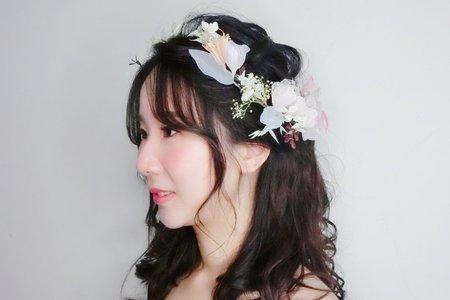 Minami新娘秘書/噴槍底妝~單眼皮調整&黑髮 -Nancy