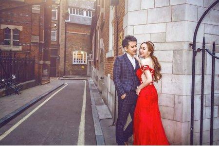 Minami新娘秘書- 海外婚紗~ 英倫街頭風