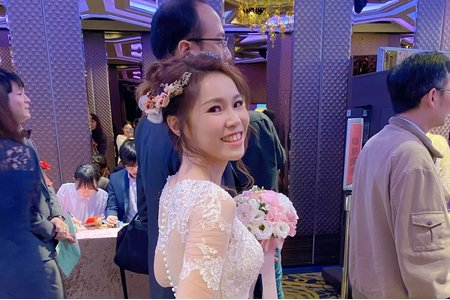 Minami新娘秘書/噴槍底妝- 婚宴現場2造型