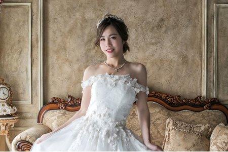 婚紗~ 韓風皇冠造型