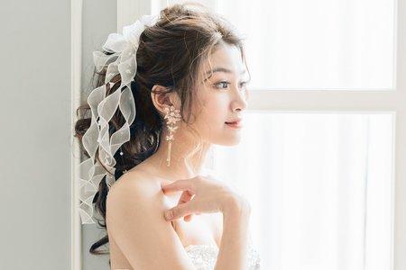 Minami新娘秘書/噴槍底妝~日系高馬尾